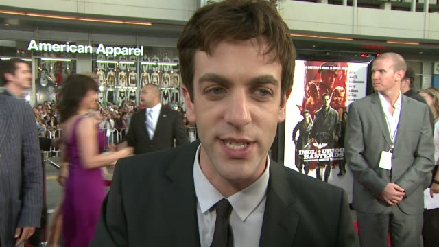 j novak on what attracted him to the project his role what brad pitt brings to the film how he worked this film into the new season of the office at... - b.j. novak stock videos and b-roll footage