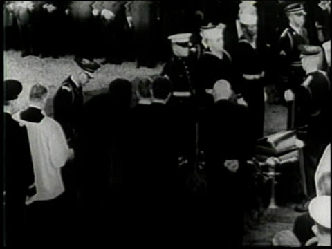november 25 1963 montage lighting of eternal flame at the funeral of john f kennedy at arlington national cemetery / washington dc united states - place concerning death stock videos and b-roll footage