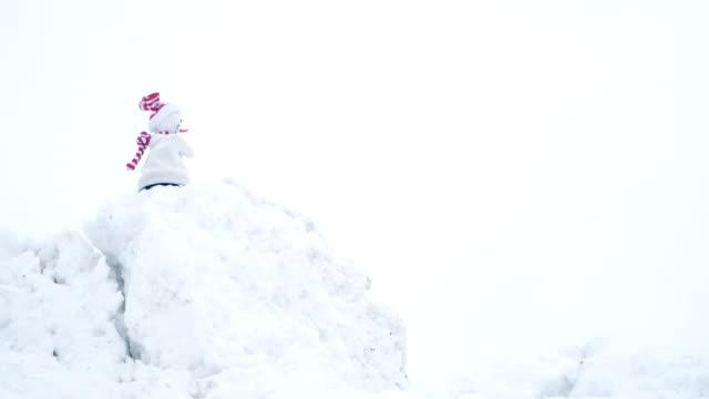S Nowman auf Schnee, lustig, Humor