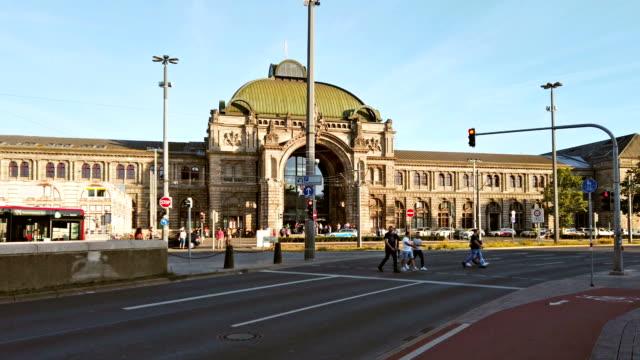 nürnberg - railway station stock videos & royalty-free footage