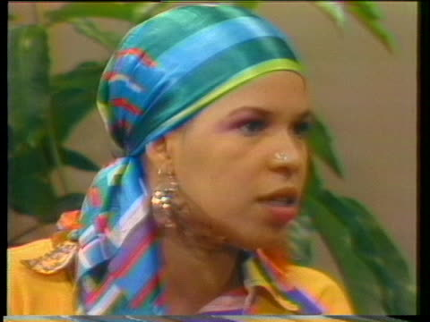 ntozake shange is interview about her choreopoem for colored girls who have considered suicide when the rainbow is enuf - suicide girls stock videos & royalty-free footage