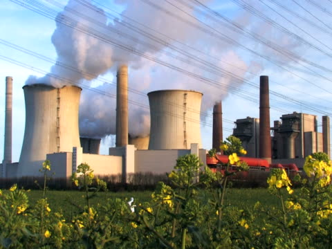 ntsc:coal fired power station - crucifers 個影片檔及 b 捲影像