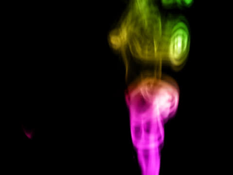 ntsc:rainbow smoke - stain test stock videos & royalty-free footage