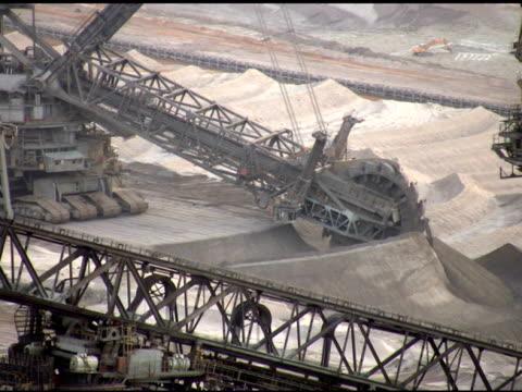 vídeos y material grabado en eventos de stock de ntsc: mina de superficie - coal mine