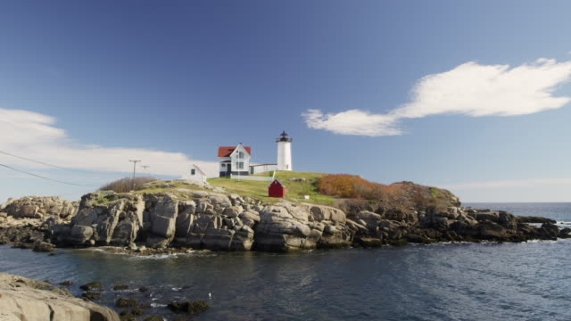 Nubble Light in Maine  time lapse