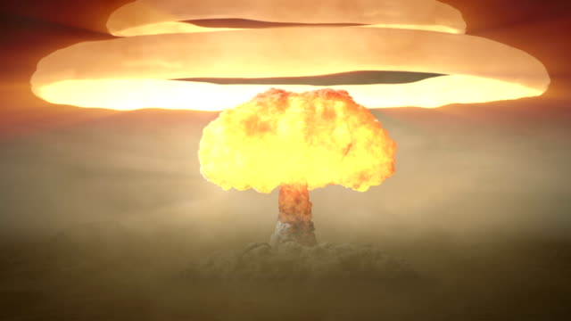 stockvideo's en b-roll-footage met nuclear bomb - bom