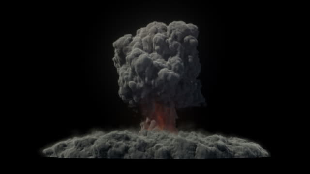 nuclear explosion - erupting stock videos & royalty-free footage