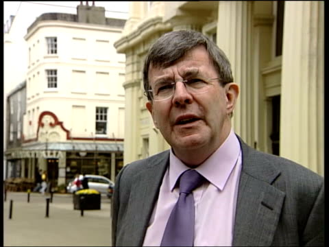 government committee recommendations england london ext gordon mackerron interview sot one option is to seal the repository as quickly as possible... - disposal stock videos and b-roll footage
