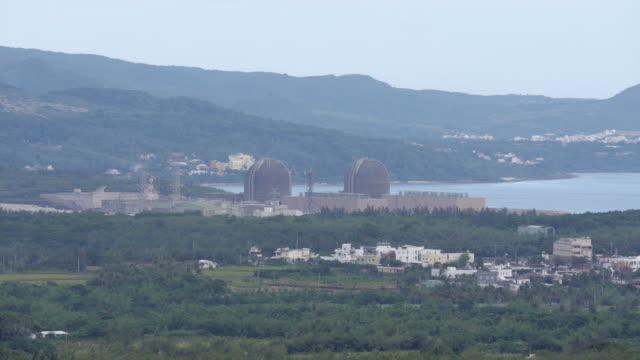 vídeos y material grabado en eventos de stock de nuclear power plant in taiwan - cuatro animales