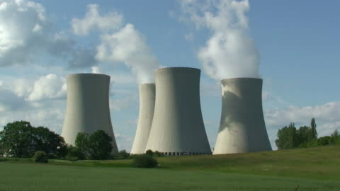 nuclear power plant - nuclear energy stock videos & royalty-free footage