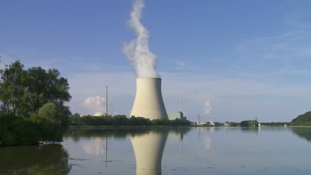 Nuclear Power Station (Time Lapse)