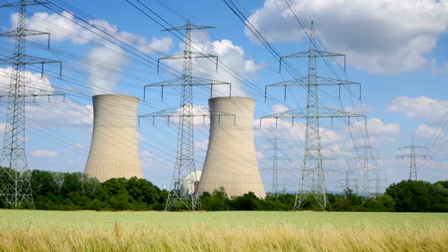 nuclear power station - nuclear reactor stock videos and b-roll footage