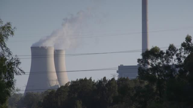 nuclear powerplant in australia - kernenergie stock-videos und b-roll-filmmaterial