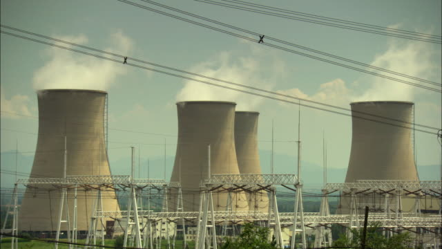 ms tu nuclear reactor at power plant / beijing, china - nuclear reactor stock videos and b-roll footage