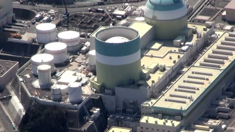 nuclear reactor that began operating almost 40 years ago will be retired at the ikata plant in ehime prefecture, western japan, for economic reasons,... - nuclear energy stock videos & royalty-free footage