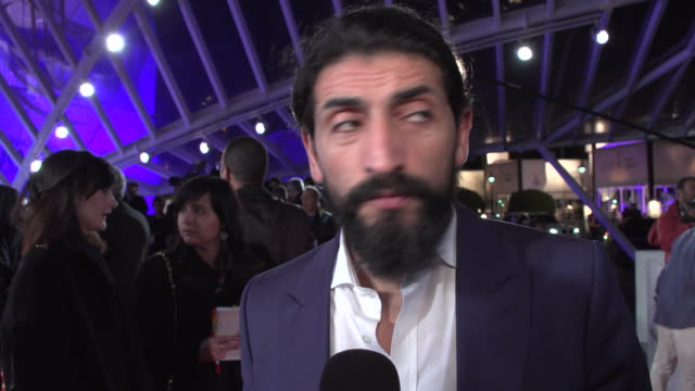 numan acar on the opening red carpet at marrakech 2016 - filmfestival stock-videos und b-roll-filmmaterial