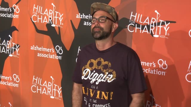 nu-mark at hilarity for charity's 5th annual los angeles variety show: seth rogen's halloween at hollywood palladium on october 15, 2016 in los... - nu stock videos & royalty-free footage