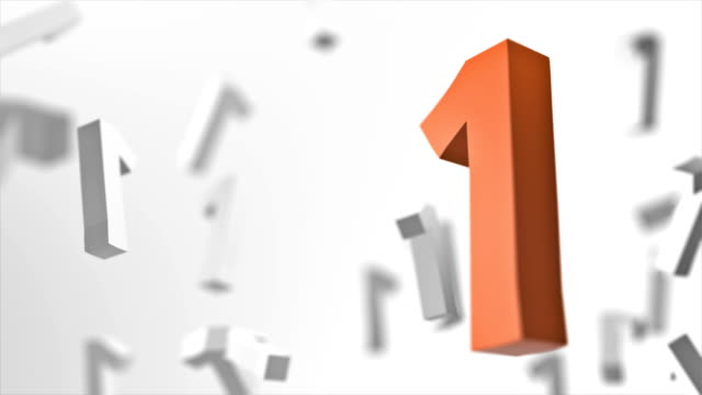 number 1 looped background - number 1 stock videos & royalty-free footage