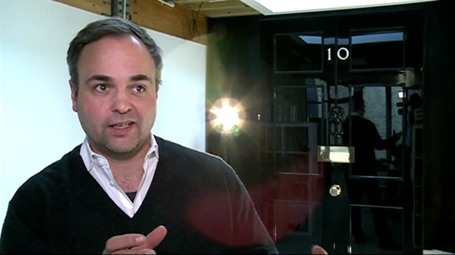 number 10 door replacement bruges interview sot - replacement stock videos & royalty-free footage