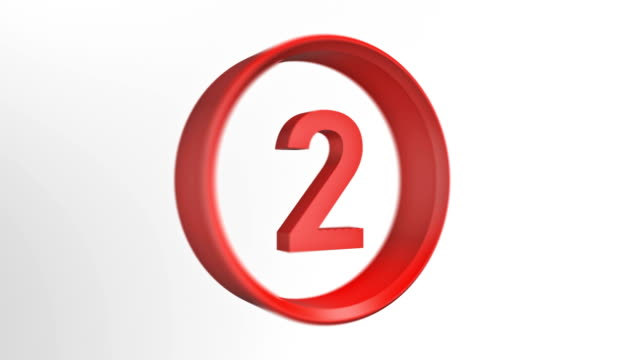 number 2 loopped, number two loopped animation - number 2 stock videos & royalty-free footage