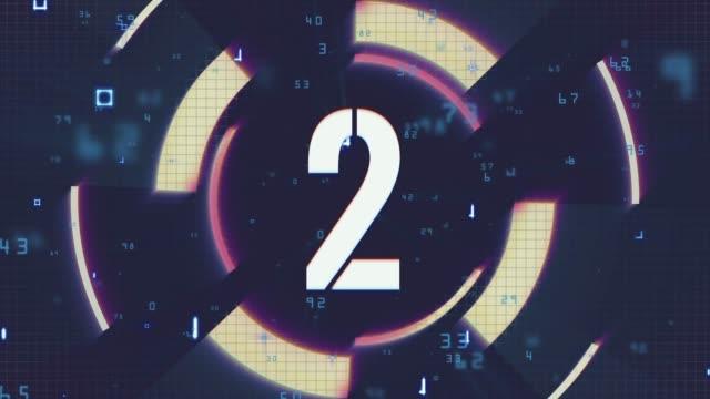 numero 2, numero due - riprese 4k - numero 2 video stock e b–roll
