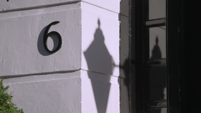 number 6 door number, london - number 6 stock videos & royalty-free footage