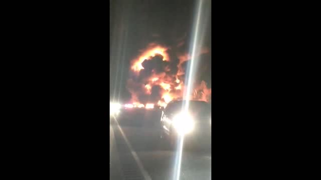 stockvideo's en b-roll-footage met number of people died in a 14-vehicle collision on a highway in ontario, canada, late on tuesday, october 31, local police... - https