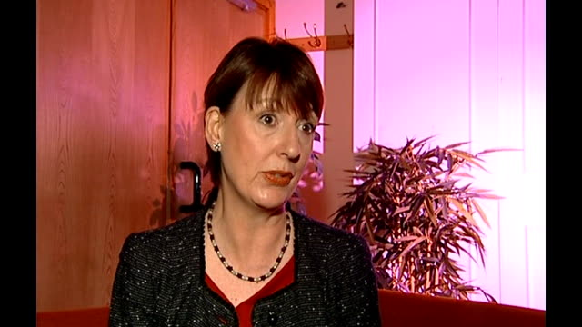 Number of twins and triplets born by IVF may be restricted ENGLAND INT Shirley Harrison interview SOT