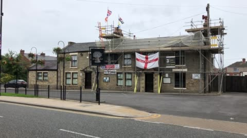 number one bar, darlington, and the wheatsheaf in chilton, which were closed by police on saturday night for not social distancing. - darlington north east england stock videos & royalty-free footage