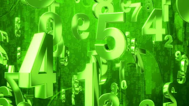番号レイン緑