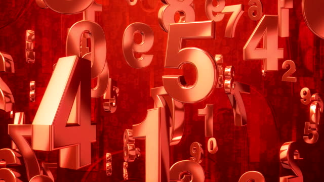 Number Rain RED