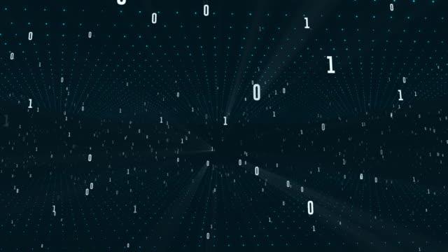 vídeos de stock e filmes b-roll de 4k numerical grid, algorithm duo, data code, decryption and coding - código binário