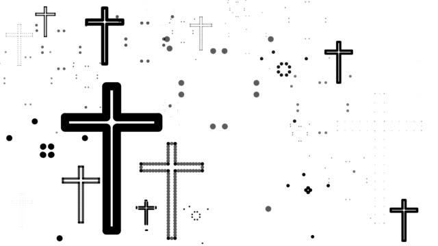 stockvideo's en b-roll-footage met cross : numeros (loop) - apostel