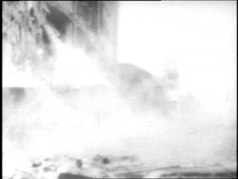 numerous buildings collapse during an earthquake in alaska - 1964 bildbanksvideor och videomaterial från bakom kulisserna