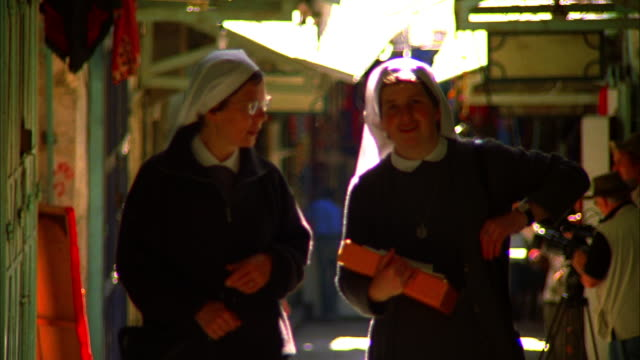 nuns - nun stock videos and b-roll footage