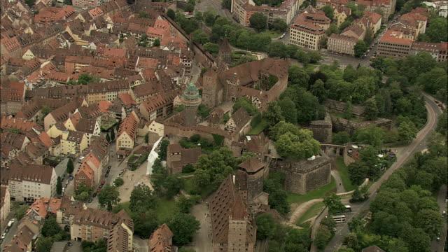 nuremberg castle - nuremberg stock videos & royalty-free footage
