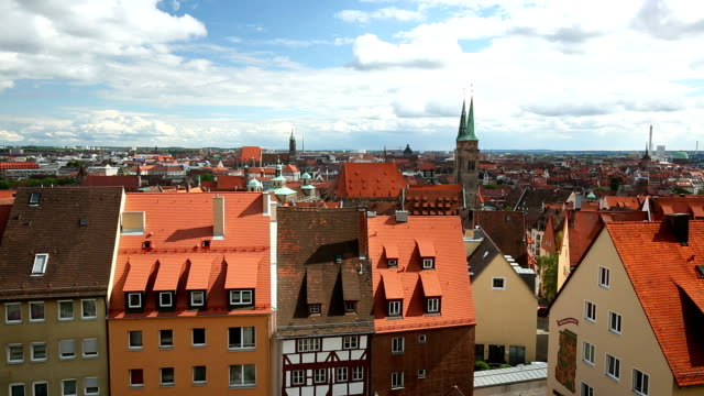 nuremberg skyline - nuremberg stock videos & royalty-free footage