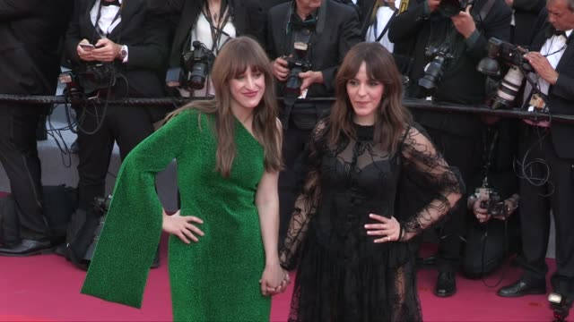 Nurhan SekerciPorst Nadine Labaki Marina Fois and Lukas Dhont Mona Chokri Anne Elizabeth Bosse and more on the red carpet for the screening of Les...