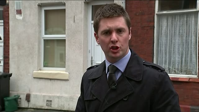 nurse accused of stepping hill hospital murders wrote he had a devil in me reporter to camera sot - 被告人点の映像素材/bロール