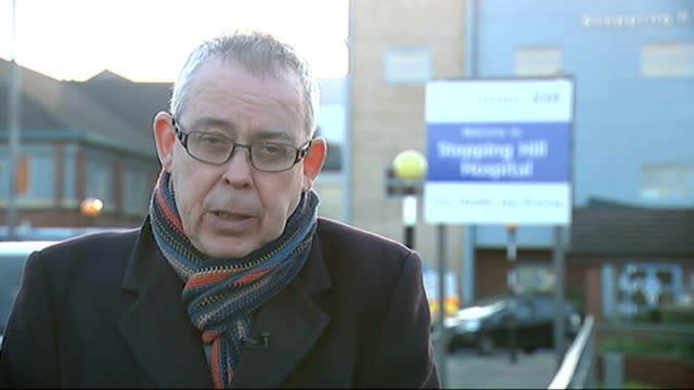 nurse charged with murdering three patients at stepping hill hospital stands trial stockport low angle shot of stepping hill hospital/ reporter to... - stockport bildbanksvideor och videomaterial från bakom kulisserna