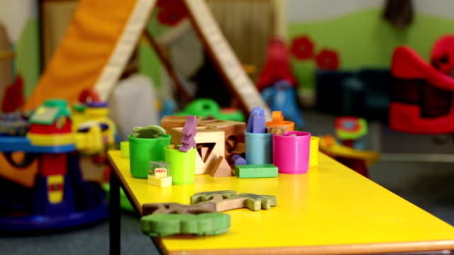 nursery school - nursery bedroom stock videos & royalty-free footage