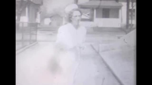1955 nurses posing on stairs - uniform stock videos & royalty-free footage