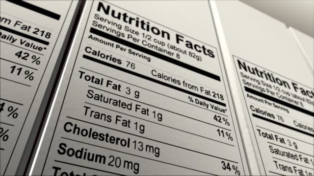 nutrition facts random data - information medium stock videos & royalty-free footage