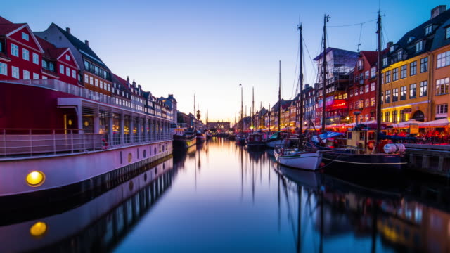 Nyhavn Channel in Copenhagen