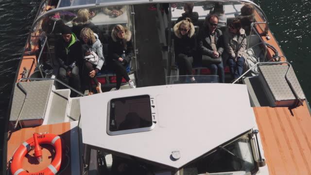 ニューハウンにコペンハーゲン - オーレスン地域点の映像素材/bロール