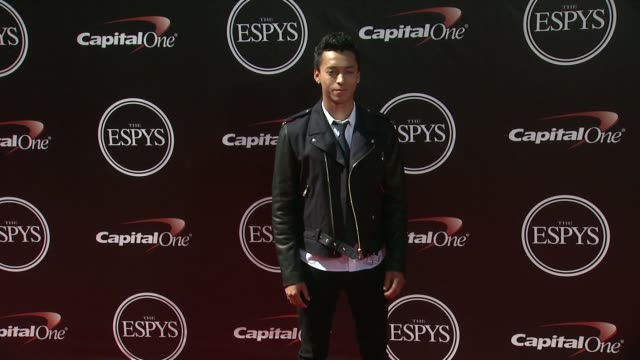 nyjah huston at the 2014 espy awards in los angeles ca - espy awards stock videos & royalty-free footage