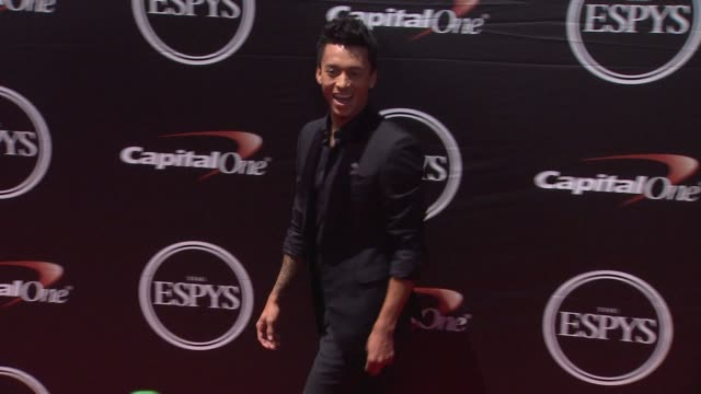 nyjah huston at the 2015 espys at microsoft theater on july 15 2015 in los angeles california - microsoft theater los angeles stock videos and b-roll footage