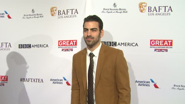 nyle dimarco at the bafta los angeles awards season tea party at four seasons hotel los angeles at beverly hills on january 09 2016 in los angeles... - tea party stock videos and b-roll footage