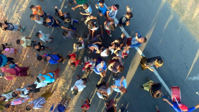 nyongkolan lombok marriage party - indonesia street stock videos & royalty-free footage