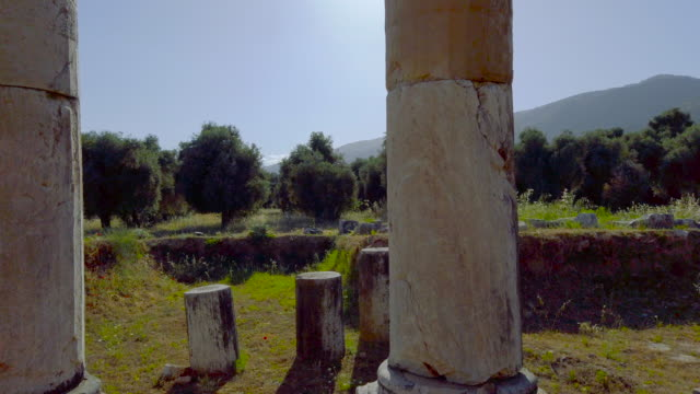 nysa ancient city on the maeander in aydın province - aydın province stock videos and b-roll footage